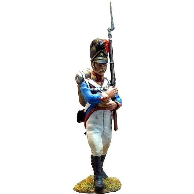 NP 268 Bavarian 4th line infantry regiment private marching