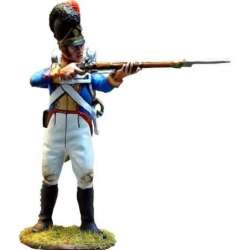 Bavarian 4th line infantry regiment private standing firing