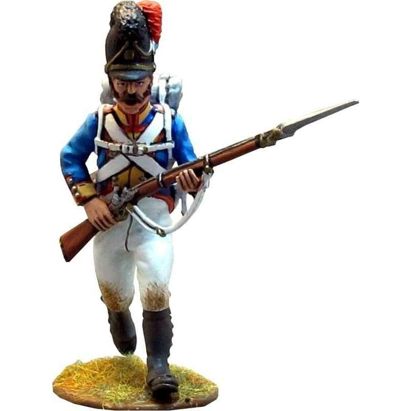Bavarian 4th line infantry regiment charging 3