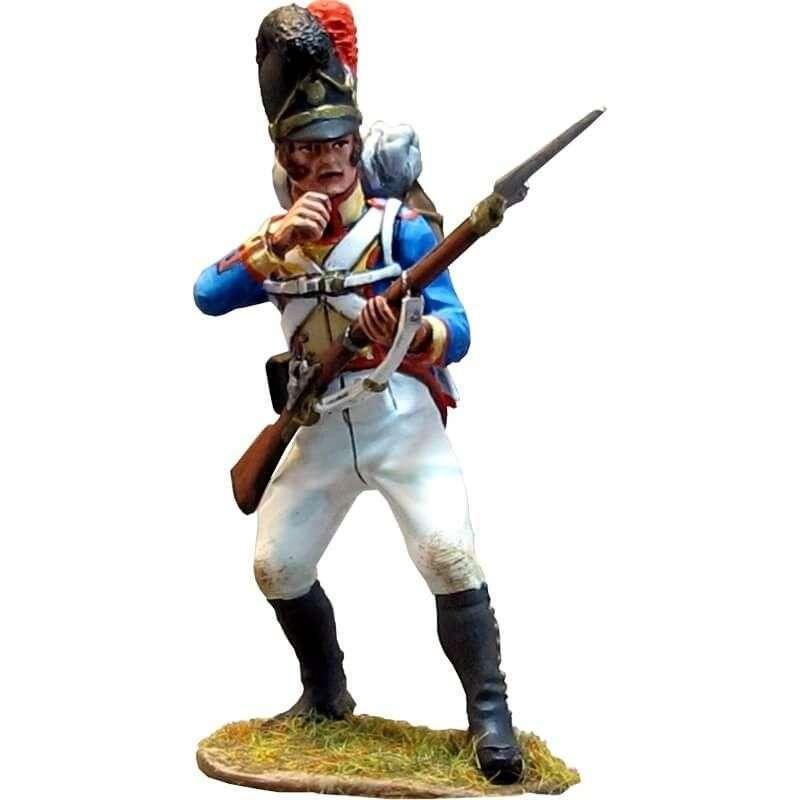 Soldado Cuarto regimiento infantería línea bávaro de pie 3