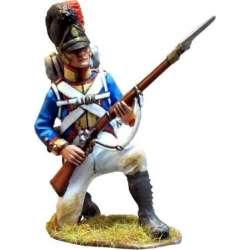 Cuarto regimiento infantería línea bávaro arrodillado