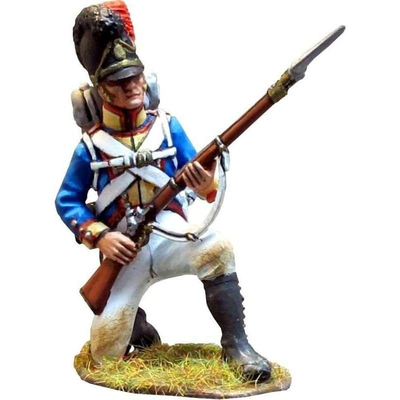 NP 278 Cuarto regimiento infantería línea bávaro arrodillado