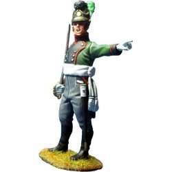 NP 348 toy soldier oficial regimiento 4 infantería ligera bávaro
