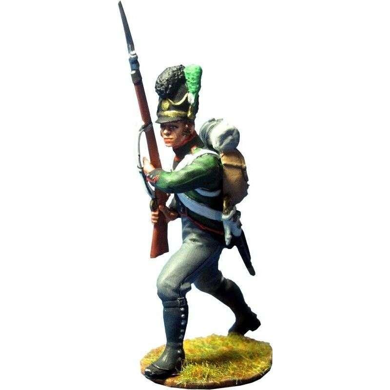 Bavarian 4th Light infantry regiment advancing 1