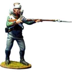 NP 350 toy soldier bavarian 4th light infantry firing