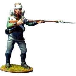 Cuarto regimiento infantería ligera bávaro disparando