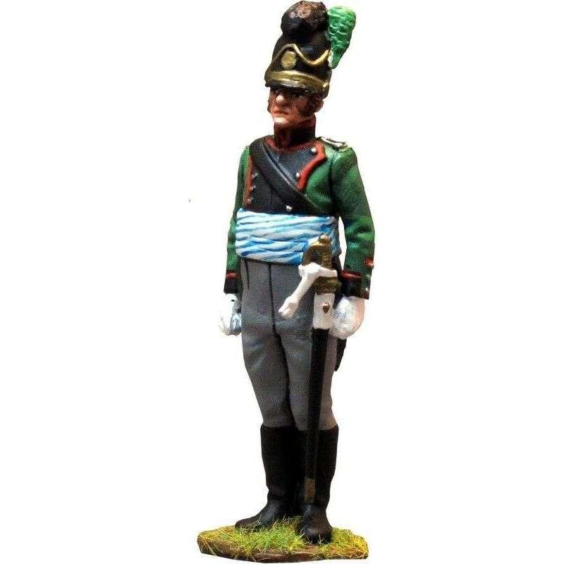 Oficial Tercer regimiento infantería ligera bávaro