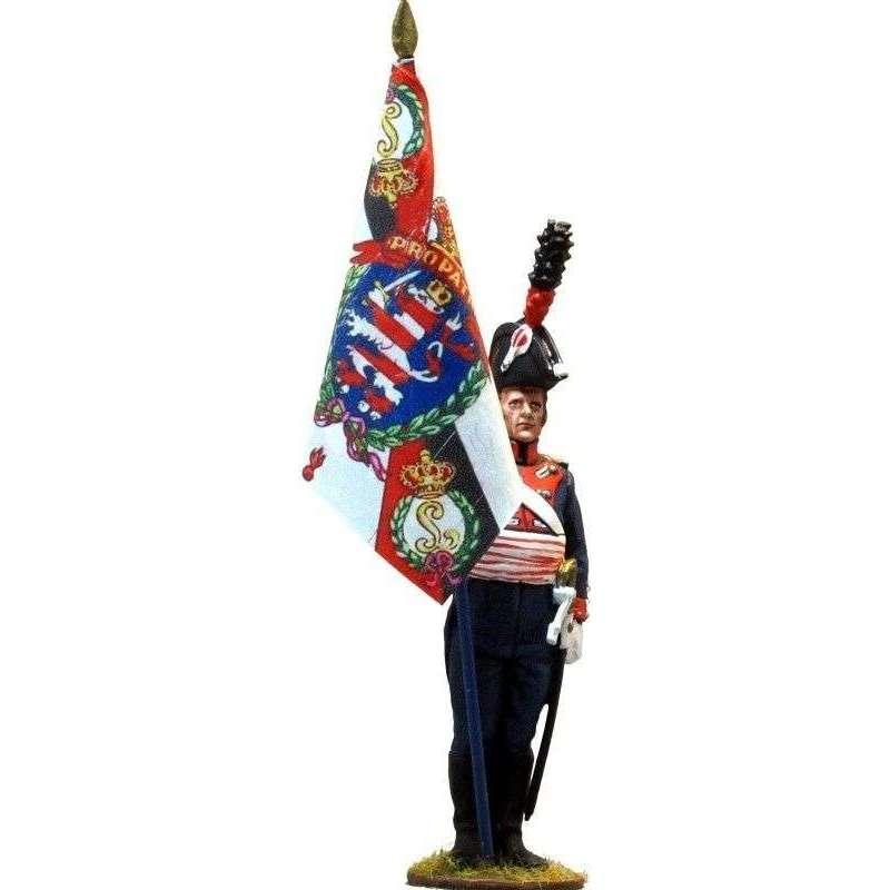 NP 251 Bandera Regimiento de la guardia Hesse-Darmstadt