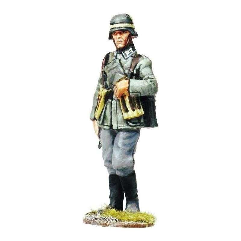Sargento Wehrmacht marchando