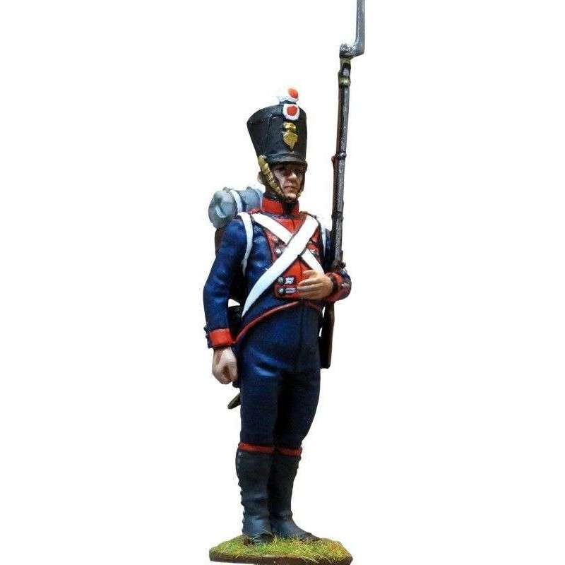 Soldado Regimiento de la guardia Hesse-Darmstadt