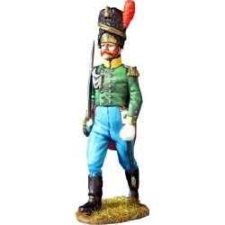 Oficial granaderos Sajonia-Coburgo