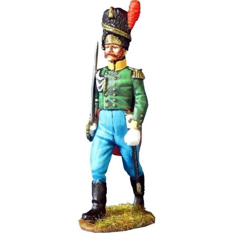 Saxe-Coburg grenadiers officer