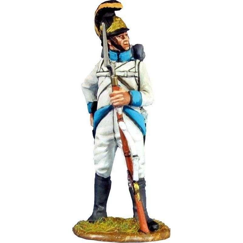 Regimiento infantería Austriaco Lindenau 1805 recargando 1