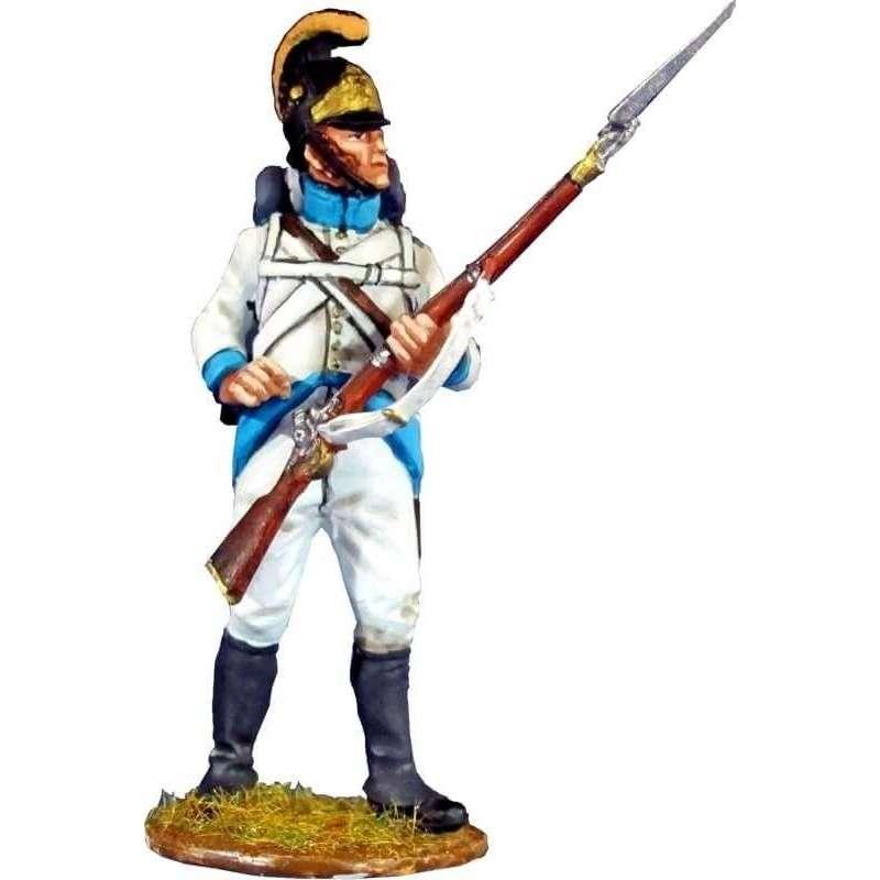 NP 367 Regimiento infantería Austriaco Lindenau 1805 recargando 2