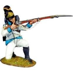 Austrian infantry regiment Lindenau 1805 kneeling firing