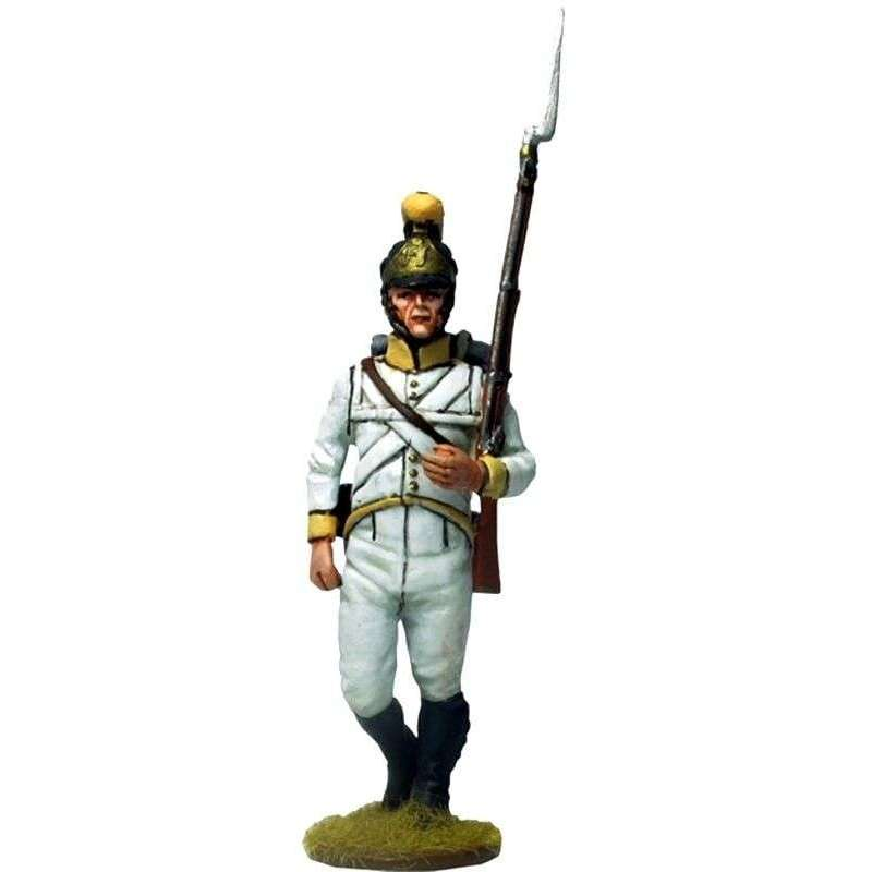 NP 545 Soldado 1 Regimiento 41 infantería austriaco Sachsen-Hildburghausen 1805