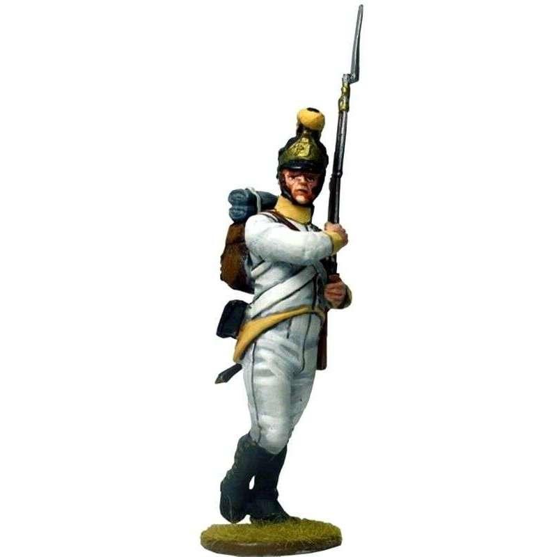 Soldado 2 Regimiento 41 infantería austriaco Sachsen-Hildburghausen 1805
