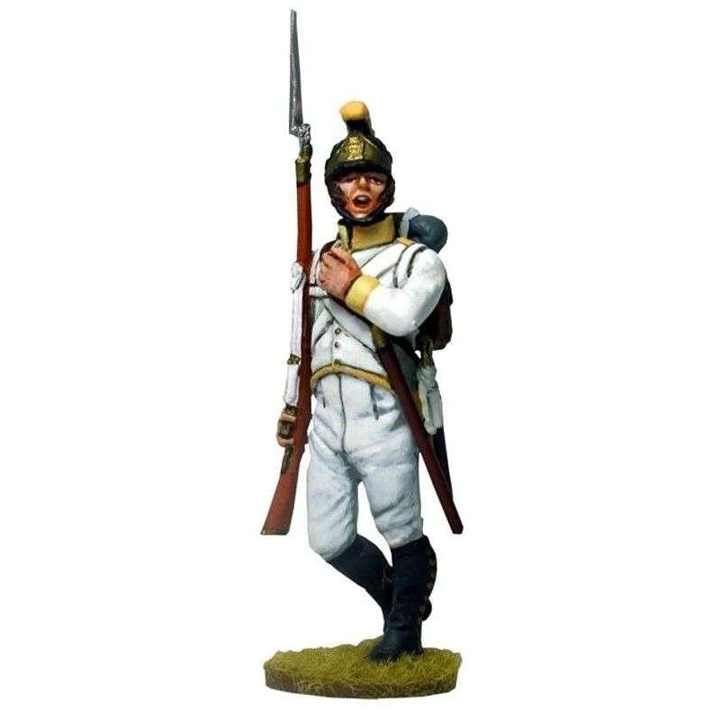 Sargento Regimiento 41 infantería austriaco Sachsen-Hildburghausen 1805