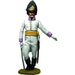 NP 567 toy soldier oficial 50th regimiento stein