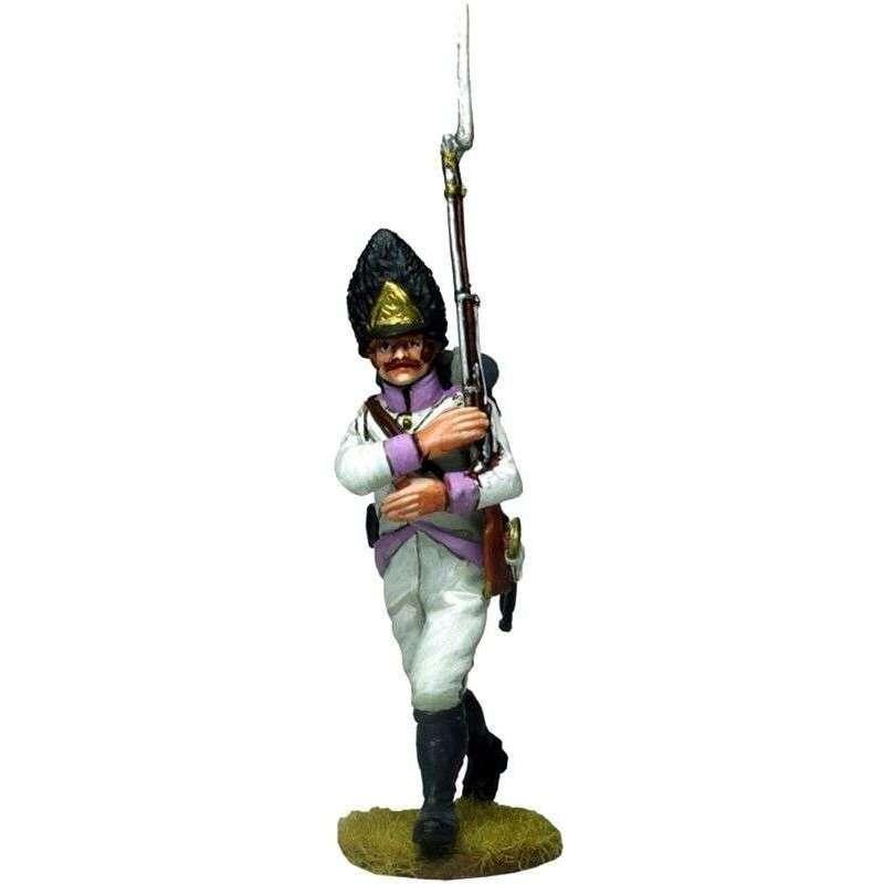 50th regiment Stein 1809  marchando 1