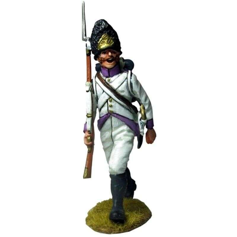 Sargento 50th regiment Stein 1809 marchando