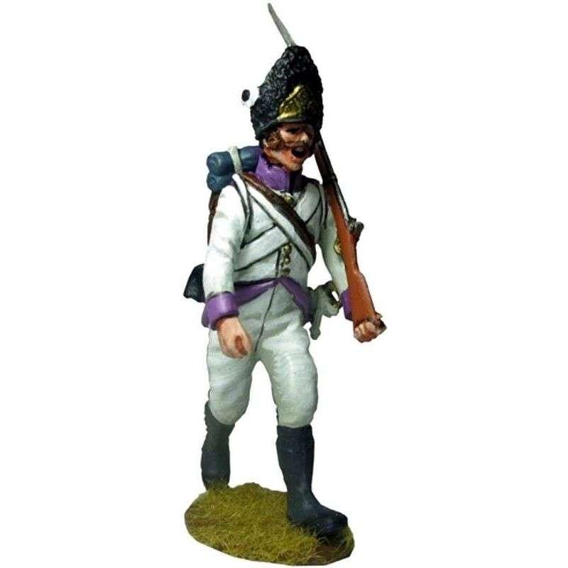 50th regiment Stein 1809  marchando 2