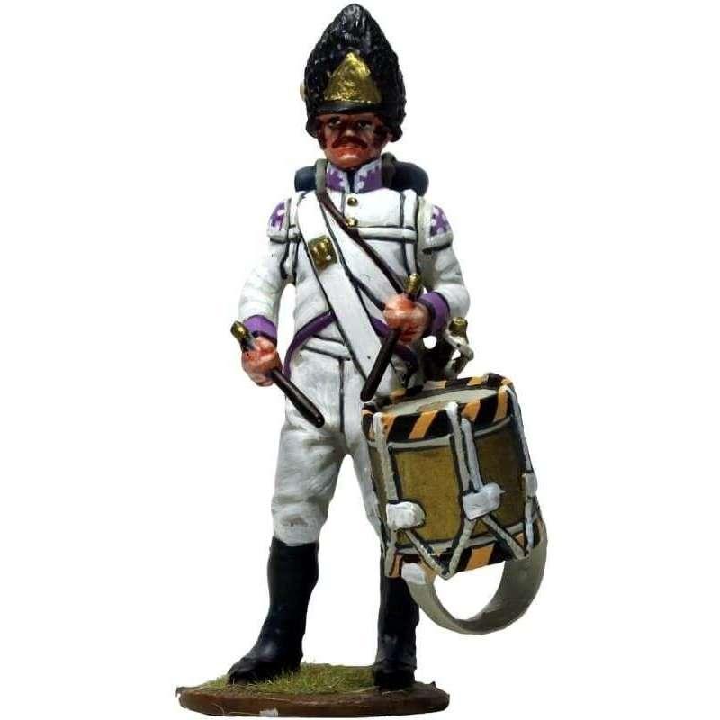 Tambor 50th regiment Stein 1809