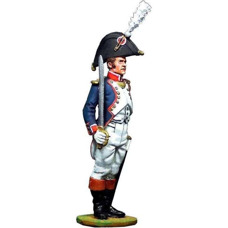 Oficial infantería línea francesa