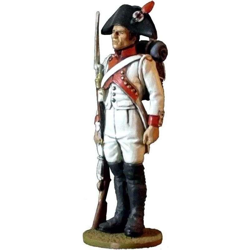Regimiento 18 infantería línea francés 1806