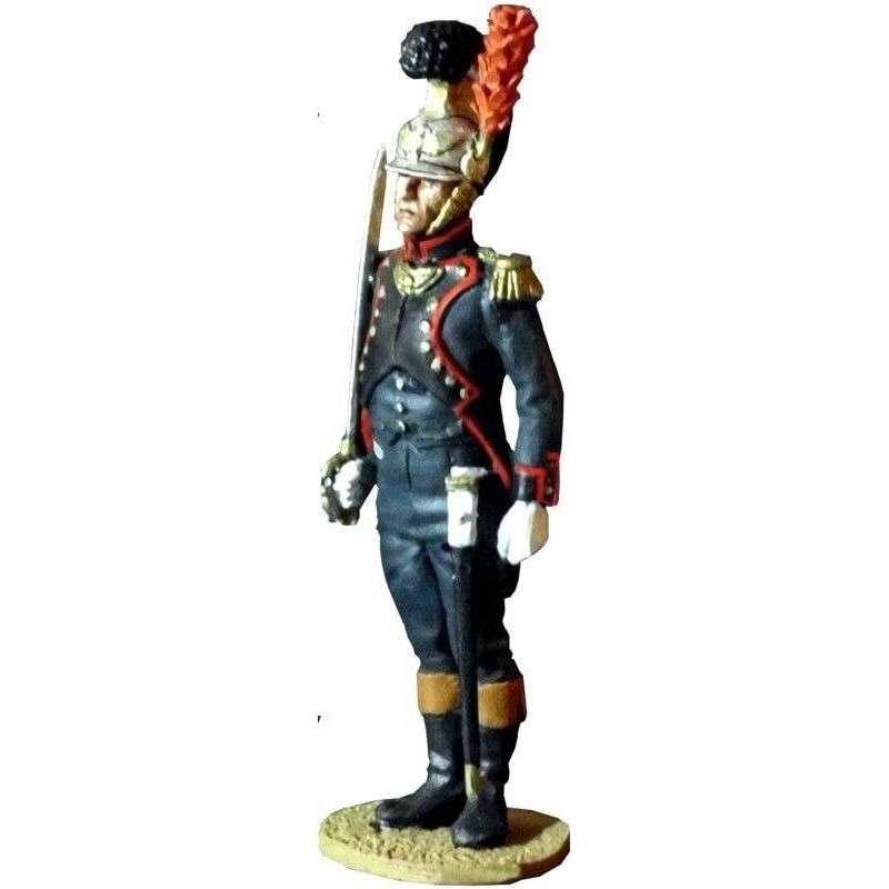 Oficial ingenieros guardia imperial francesa