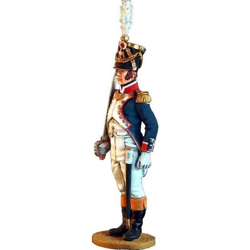 100th French line infantry regiment officer 1809