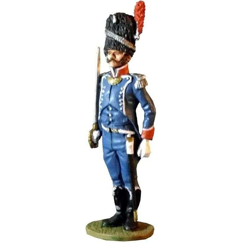 French light infantry carabiniers officer 1810