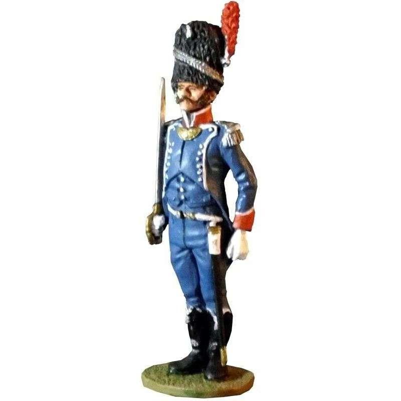 Oficial carabinero infantería ligera 1810