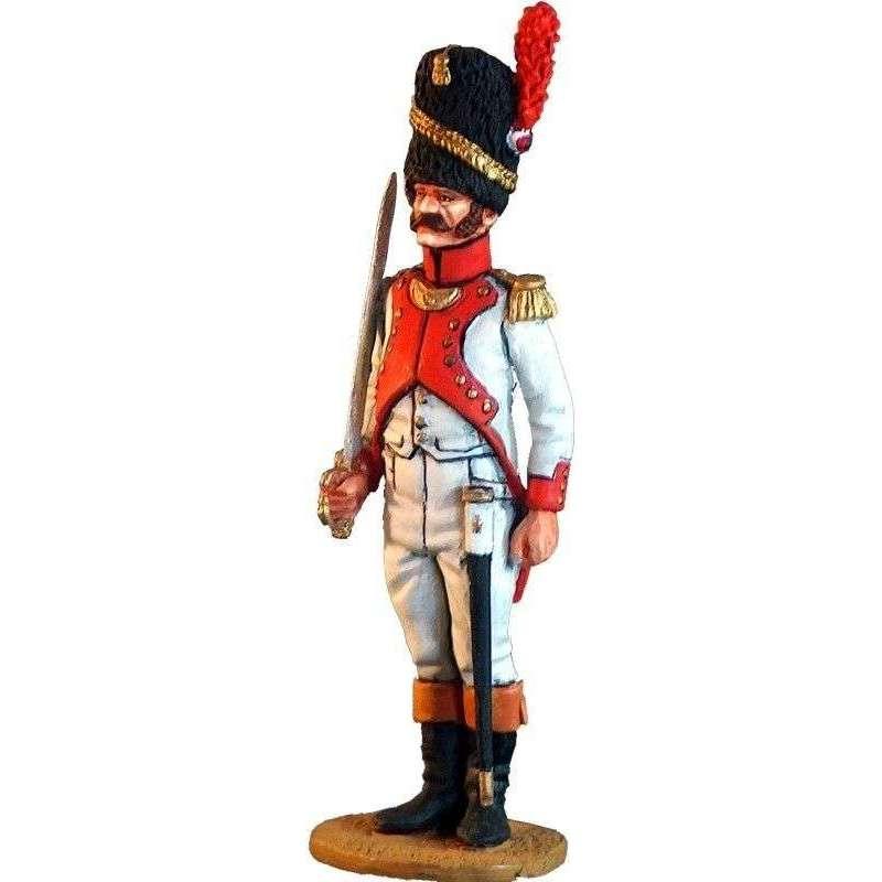 NP 028 Oficial tercer regimiento granaderos guardia imperial francesa