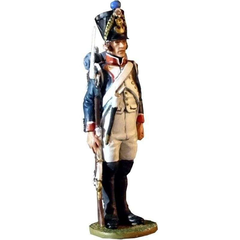 Infantería línea francesa 1807