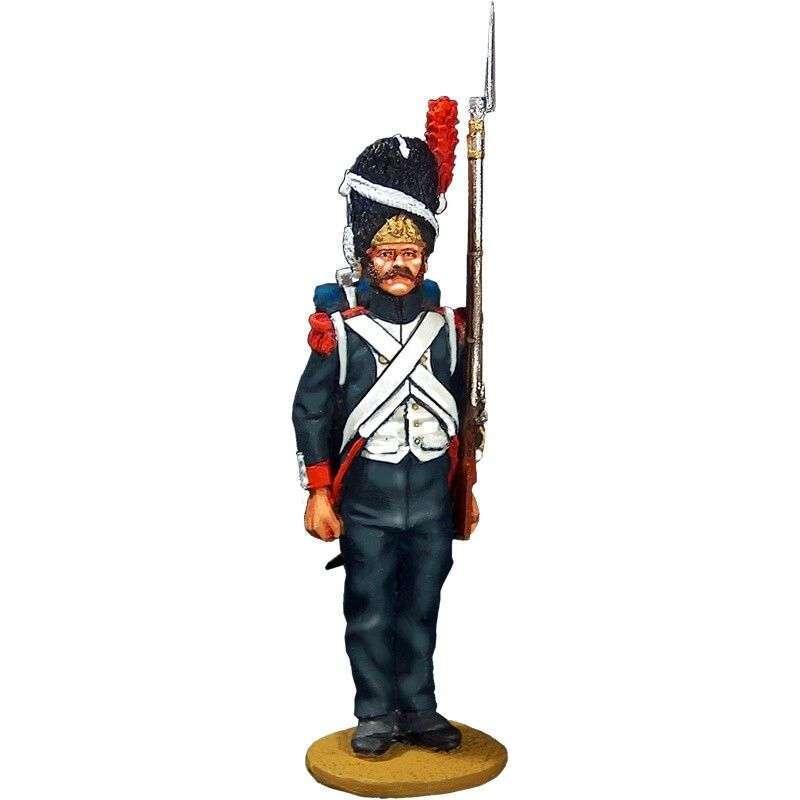 NP 033 Granadero guardia imperial francesa traje campaña 1815
