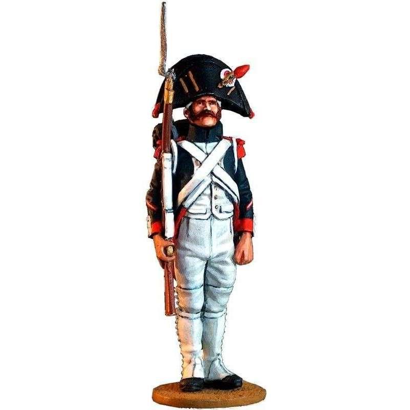 Granadero guardia imperial francesa uniforme servicio