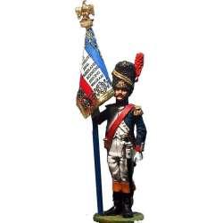 Bandera granaderos guardia imperial francesa
