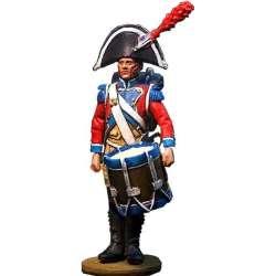 Tambor gendarmería a pie guardia imperial francesa