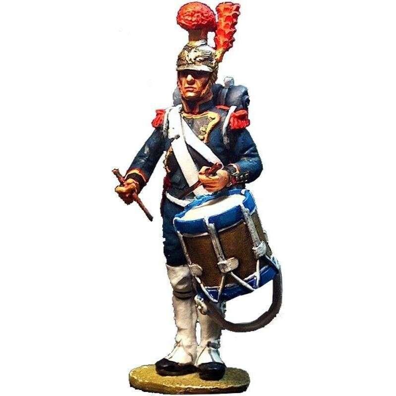 Tambor ingenieros guardia imperial francesa