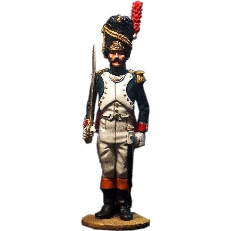 Oficial granaderos guardia imperial francesa