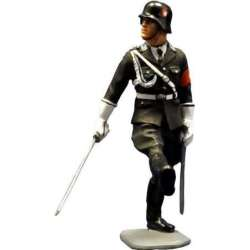 WW 052 toy soldier LAH officer saluting