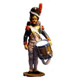 NP 051 French imperial guard drummer