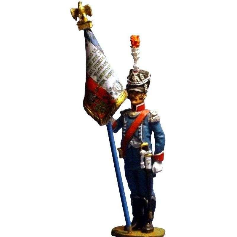 French foot gendarmerie standard bearer