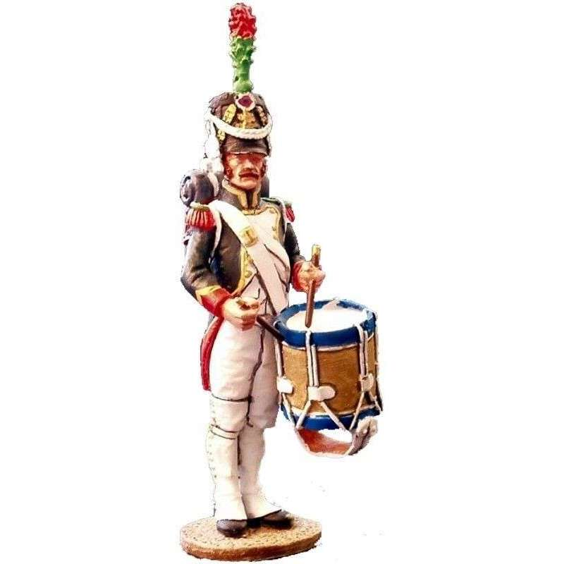 French imperial guard fussiliers-chasseurs drummer
