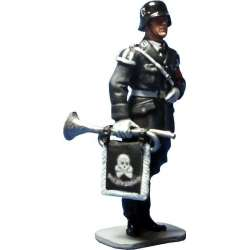 WW 053 toy soldier trompeta leibstandarte