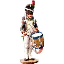 NP 066 toy soldier guard chasseurs drummer