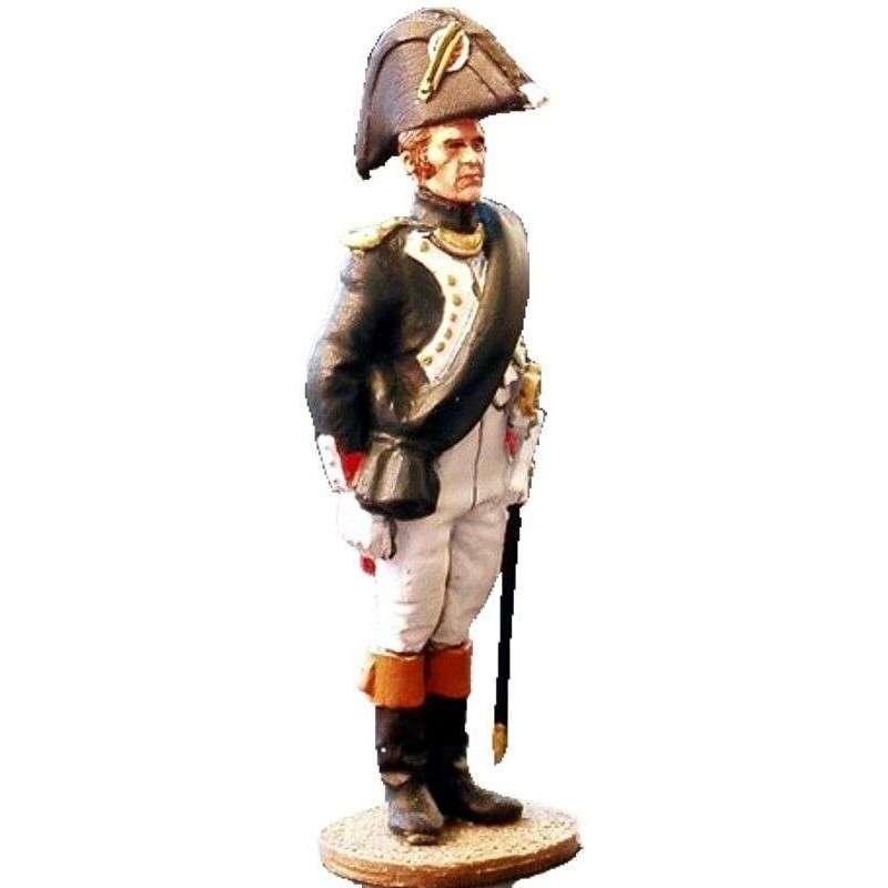 Oficial granaderos guardia imperial francesa uniforme campaña