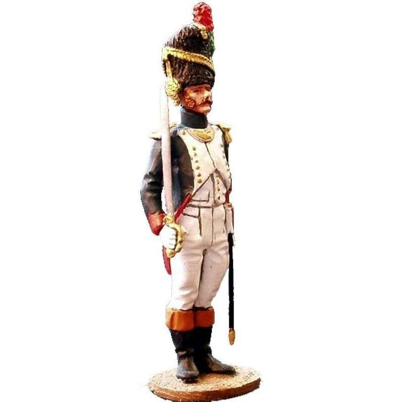 French imperial guard chasseurs officer