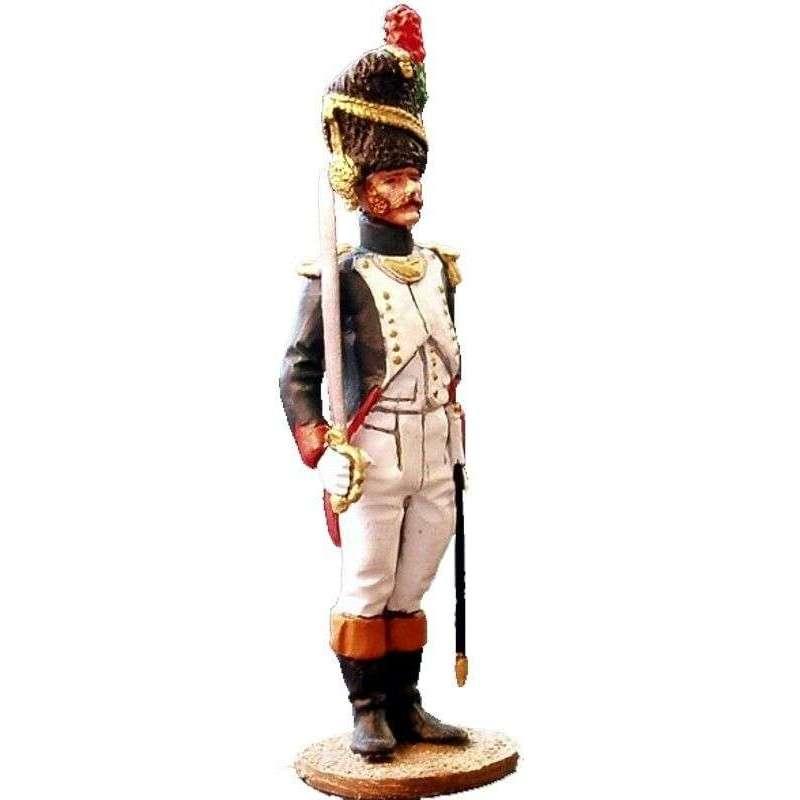 NP 068 Oficial cazadores guardia imperial francesa